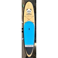 10'6 Paddle Board - Epoxy/Fiberglass/Bamboo