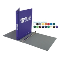 "1/2"" Standard Round Three Ring Binder"