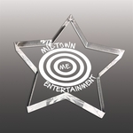 Custom Shaped Etched Paperweights (35 Square Inches)