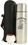 Vacuum insulated stainless steel bullet bottle