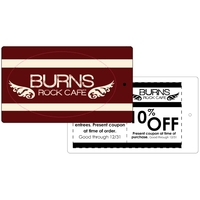 """5"""" x 3"""" Oval Apparel Hang Tag Decal"""