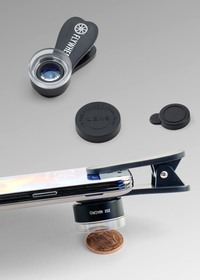 Microscope 20x Macro Clip-On Phone Camera Lens Set