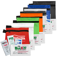 Stay Safe Kit 1 4 Piece Insect Repellent Kit in Zipper Pouch