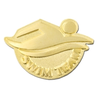 Swim Team Pin