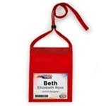 Triple Play Max, Select, Polypropylene, Blank Name Tag Pouch