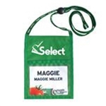 Large Nylon Triple Play Select Name Tag Pouch
