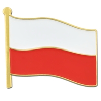 World Flag - Poland Flag Pin