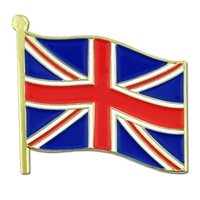 World Flag - United Kingdom Flag Lapel Pin