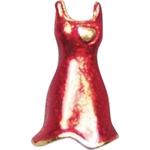 Red Dress Women's Heart Disease Awareness Lapel Pin