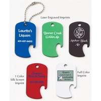 Dog Tag Bottle Opener shape Pet Tag / ID Tag