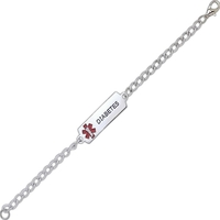 The Classic Medical Alert Bracelet - Custom Stainless Steel