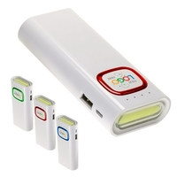 Advance 4400mAh Power Bank & COB LED Strip Flashlight Combo