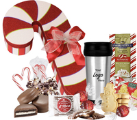 Holiday Candy Cane with Chocolates, Cocoa, Tumbler and More