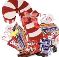 "Jumbo 18"" Candy Cane Gift Box"