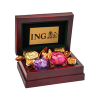 Small Wood Box with 6 Assorted Godiva (R) Chocolates
