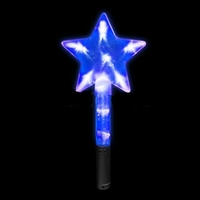 Blank LED Super Star Wand Light Up