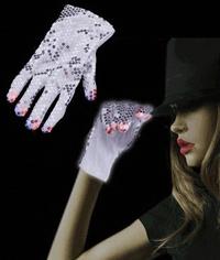 LED Sequin Rockstar Glove - Right Hand
