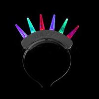 LED Spike Mohawk Premium - Black