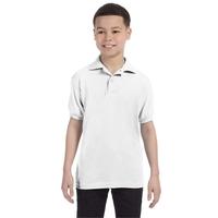 Youth 5.2 oz., 50/50 EcoSmart(R) Jersey Knit Polo