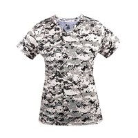 Ladies' Digital V-Neck Short-Sleeve T-Shirt