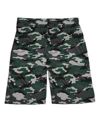 "Adult 10"" Camo Sublimated Print Shorts"