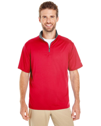 Men's Lightweight Half-Sleeve Quarter-Zip Performance Fro...