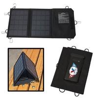 Tri-Fold Solar Power Bank - 5000 mAh