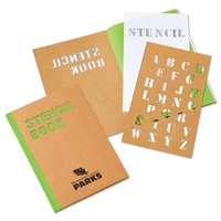 "5-3/4"" x 8-1/4"" Stencil Book"