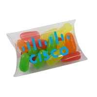Small Pillow Acetate Box with Mike and Ike Candies