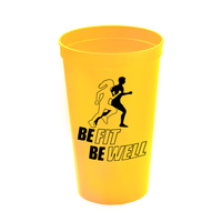Cups-On-The-Go 22 oz Stadium Cups Solid Colors