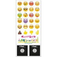 "Emoji Mood Magnet (0.02"" Thickness)"
