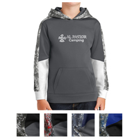 Sport-Tek Youth Sport-Wick Mineral Freeze Fleece Colorblo...