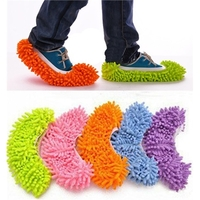 Integrated lazy slippers mop