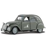 "9"" Metallic Grey 1952 Citroen 2cv Die Cast Replica Vehicle"