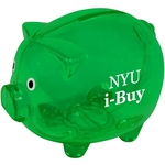 "5""x4"" Green Piggy Bank"