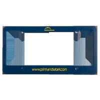 License Plate Frame (4 Holes - Straight Bottom)
