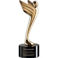 "Meteor Award - Gold/Black 10 1/4"""