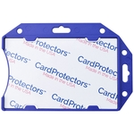 1840-5092 Blue Rigid Shield w/ Data Skimming Protection