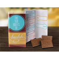 10 Rules Deluxe Trio Card - Brown & Teal