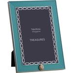 Wedgwood Treasures With Love Aqamarine Seashell 4x6 Frame