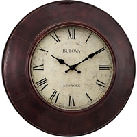 Bulova Watford Large Decorative Wall Clock