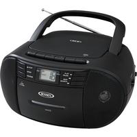 Jensen Portable Stereo CD Cassette Recorder with Radio