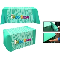 All Over Full Color Dye Sub Convertible Table Cover