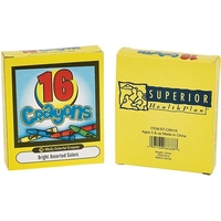 Sixteen Pack of Crayons