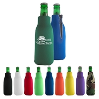 Bottle Coolie with Zipper