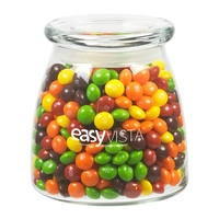 Glass Vibe Jar with Skittles (R)