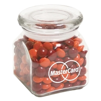 Contemporary Glass Jar / Chocolate Buttons
