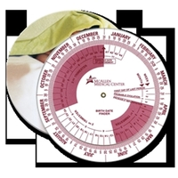 Pregnancy and Gestation Calculator Wheel