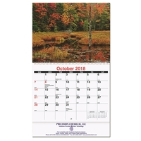Monthly wall calendar - Majestic Outdoors