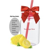 Closeout Summer Drink Mason Jar